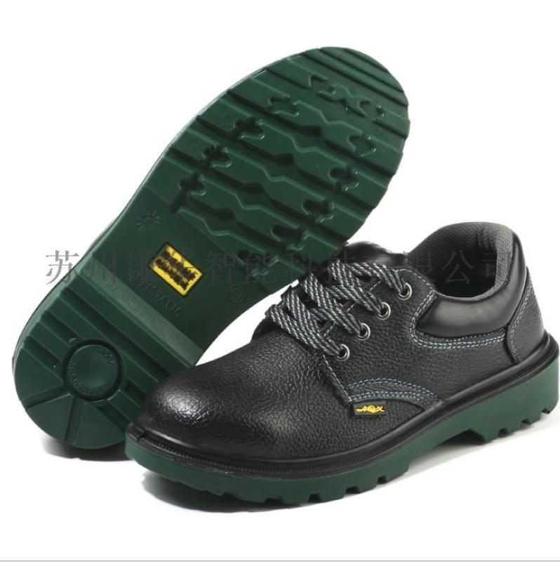 勞保低幫pu底工地安全防護工作鞋