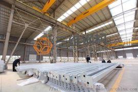 山东钢结构加工施工涂装厂家 三维钢构