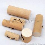 实木树皮收纳盒 创意树皮名片首饰