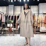 【佳莉绮】19年双面羊绒大衣 品牌折扣女装