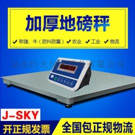 供应电子地磅 1-3吨高精度内置电池地磅 多功能