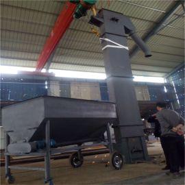 加高加长斗提机 钢丝绳牵引式斗式提升机 六九重工
