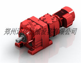R系列-斜齿轮减速马达R57/R107减速马达