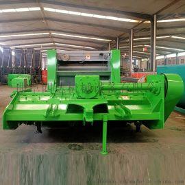 玉米秸秆粉碎收割一体机 自动化收割粉碎打捆机