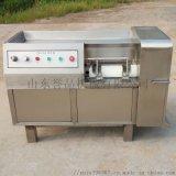 供应全自动鲜肉冻肉切丁机多功能冻肉切丁机