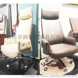 厂家直销 TKS中班椅 高背办公椅 真皮转椅 电脑椅 办公家具转椅