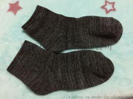 供应专业定做黑白灰藏青吸汗防臭竹纤维男士商务袜