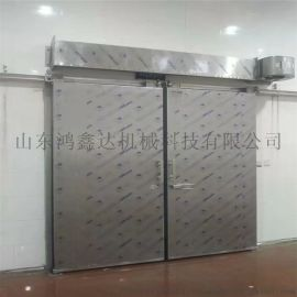 冷库门材质 不锈钢电动平移门 手动平开门厂家
