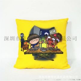 直销卡通动漫广告抱枕 创意个性礼品抱枕靠垫定制