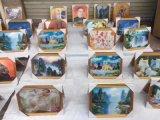 地攤展會熱銷立體魔術畫魔幻炫彩掛圖壁畫貨源