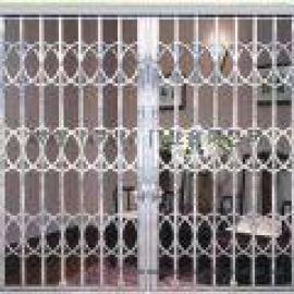 维修不锈钢网闸,不锈钢网闸,防火卷帘门,伸缩门,水晶门,车库门