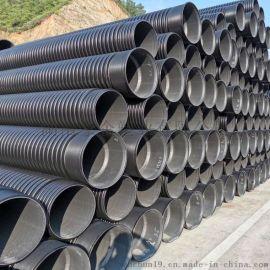 湖南HDPE双壁波纹管波纹管dn400排污管的特点