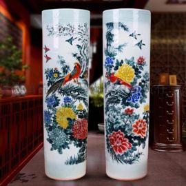 景德镇陶瓷器落地大花瓶家居客厅书房装饰品大摆件