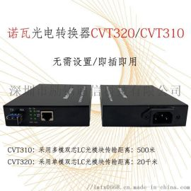 LED光纤收发器诺瓦光电转换器CVT320