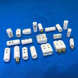 厂家加工注塑机模具热流道陶瓷接线盒 热流道分流板陶瓷配件
