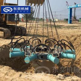 截除预制桩挖机截桩器 灌注桩头破碎机