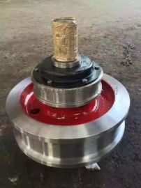 起重机多规格车轮组淬火调质主动轮