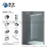 A002廣東淋浴房玻璃移門五金套裝滑輪304不鏽鋼