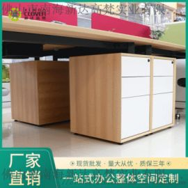 工厂批发办公室家具3抽屉木推柜文件柜文件柜