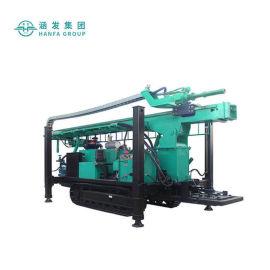 高效节能液压钻机,HF700Y履带式水井钻机