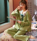 2020春夏季韓版甜美少女長袖寬鬆休閒純棉家居服女秋冬套裝