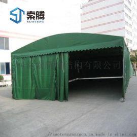 鹤壁淇县伸缩式雨篷电动悬空推拉蓬遮阳棚制造工艺优