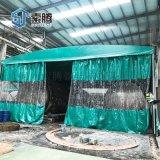 平頂山市倉庫推拉帳篷伸縮雨棚活動摺疊雨篷環保美觀