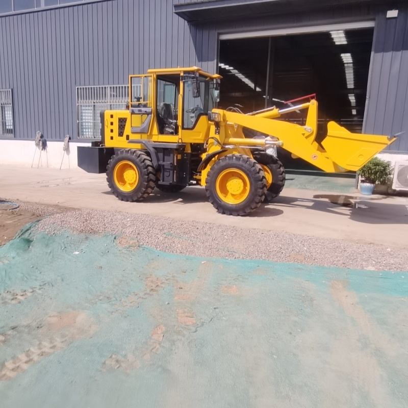 小型农用装载机 工程小铲车 液压爪草机