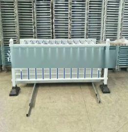 配电箱围栏 电力变压器防护护栏 围墙护栏 PVC塑钢护栏 防护栏