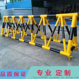 移动刹车路障拒马护栏 安全通道阻车防撞护栏