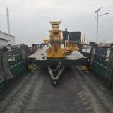 鲁邦拖拉机平板吊车 10吨拖拉机平板吊车
