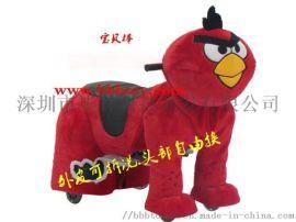 卡通动物玩具车愤怒的小鸟