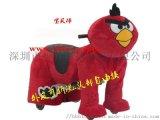 卡通動物玩具車憤怒的小鳥