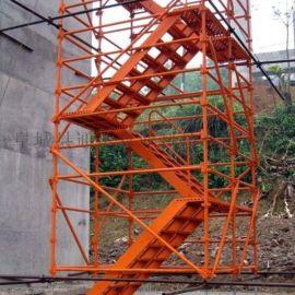 河南开封安全防护网爬梯桥梁爬梯生产厂家