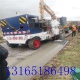 水泥路肩石滑模成型机 用布料机改的土路肩机器