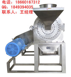 山东不锈钢原粮磨面机,谷物杂粮磨粉机FS450