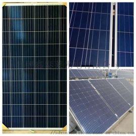 黑色朝鲜太阳能电池板,太阳能发电专用电池板
