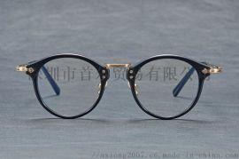 增永眼镜GMS-806同款光学眼镜架板材配钛