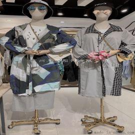 木子衣芭上海一线设计师品牌**女装实体店剪标尾货