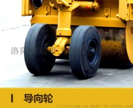 张家口高配置手扶式双钢轮压路机经销点. 6吨单轴单轮压土机