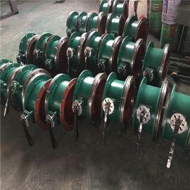 乔达环保通风管道用DN1100电动通风蝶阀 圆口