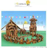 幼兒園大型碳化防腐積木大型碳化防腐積木
