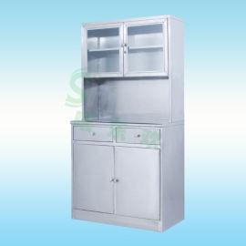 医用药品展示柜,药品摆放台中药柜,不锈钢器械柜