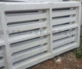 猪用水泥漏粪板猪舍水泥板模具母猪产床定位栏漏粪板