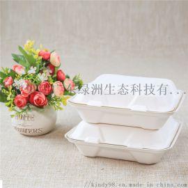 可降解餐盒一次性外 打包甘蔗浆餐盒