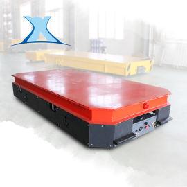 工业20吨电瓶车电动运载遥控钢卷转运无轨搬运平板车