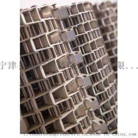 304不锈钢马蹄链网带