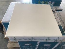 欧陆金属铝天花厂家生产铝扣板铝方通铝单板