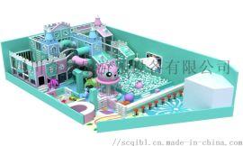 眉山马卡龙色儿童淘气堡厂家奇贝乐游乐设备
