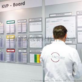 a4磁性文件框 透明磁性展示框 a4文件白板展示窗